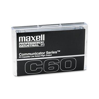Maxell - Standard Dictation/Audio Cassette, Normal Bias - 60 Min. (30 x 2)