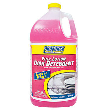 ProForce� Pink Lotion Dish Detergent - 1 gal.