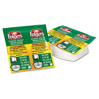 Folgers  Coffee Classic Roast Decaffeinated, .9 oz. Packet, 42 ct.
