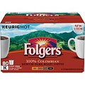 Folgers Gourmet Selections Coffee, Lively Colombian (80 K-Cups)Image