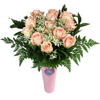 Rose Bouquet - Pink - 1 Dozen