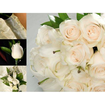 Bulk wedding flowers sams club junglespirit Gallery
