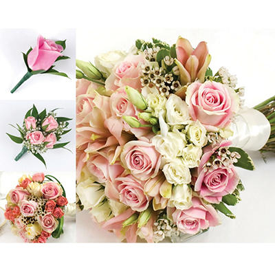 Wedding Collection - Pink - 10 pc.