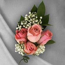 Wedding Corsage & Boutonniere Package - Pink - 24 pc.