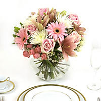 Centerpiece - Pink - 6 pc.
