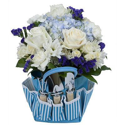 Sapphire Garden Bag