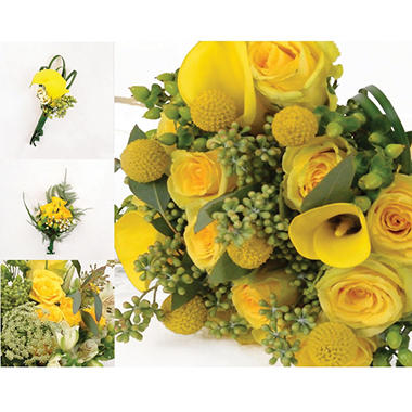 Wedding Collection - Yellow - 10 pc.