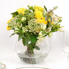 Centerpiece - Yellow - 6 pc.