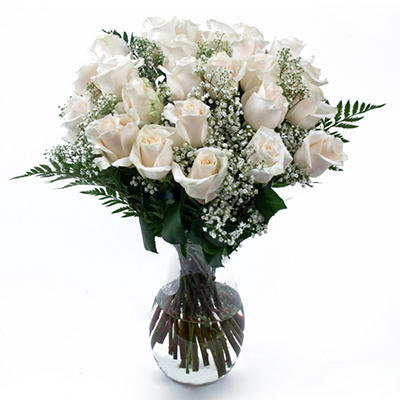 White Rose Bouquet - 6 pk.