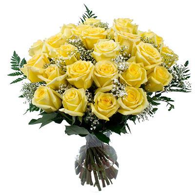 Yellow Rose Bouquet - 6 pk.