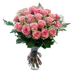 Pink Rose Bouquet (6 pk.)