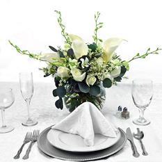 Platinum Centerpiece - Now and Forever - 6 pc.