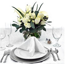Platinum Centerpiece - Endless Love - 6 pc.