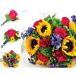 Sunflower  Wedding Collection - Bright  - 17 pc.
