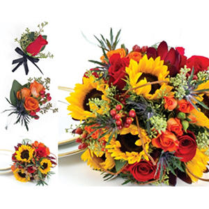 Sunflower Wedding Collection - Fall - 17 pc.