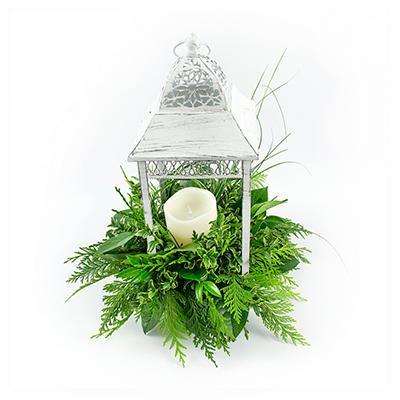 White Wedding Lantern