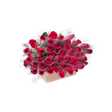 Single Roses, Red (80 stems)