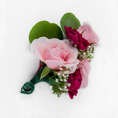 Marsala Enchanted Wedding Collection - Corsages and Boutonnieres (24 pc.)