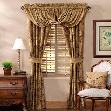 Sherbrooke Toga Valance - 3 Pc. Set