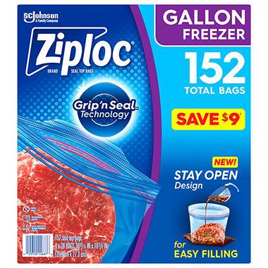 Ziploc Double Zipper Freezer Gallon - 38 ct. - 4 pk.