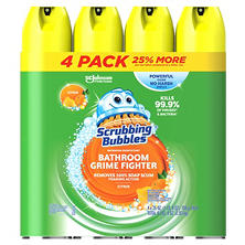 Scrubbing Bubbles Lemon Foaming Bathroom Cleaner - 25 oz. - 4 pk.