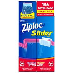 Ziploc Slider Bags Variety Pack (156 ct.)