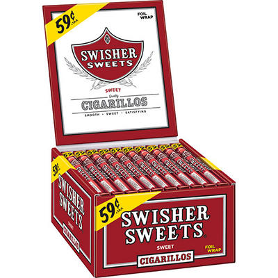 Swisher Sweets Cigars Box - 60 ct.