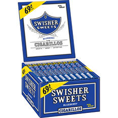 Swisher Sweets Blueberry Cigarillos Box - 60 ct.