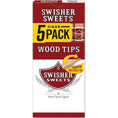 Swisher Sweets Wood Tip Cigarillos - 50 ct.
