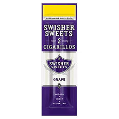 Swisher Sweets Grape Cigarillos - 2 For $.99