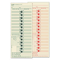 TOPS - Bi-Weekly Time Clock Cards