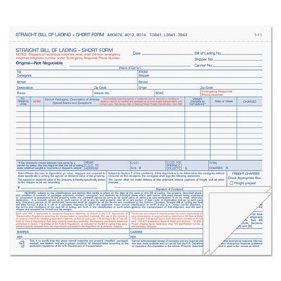 TOPS - Bills of Lading Snap-Off Sets