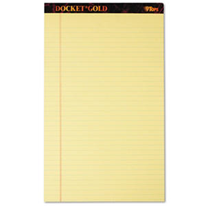 Tops - Docket Gold Legal Pads