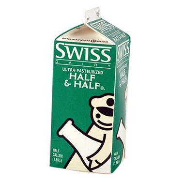 Swiss Dairy Half & Half (1/2 gal.)