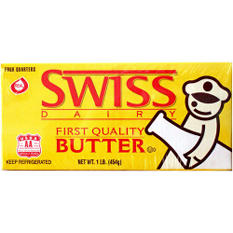 Swiss Dairy Butter - 1 lb.