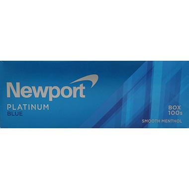 Newport Platinum Blue 100s Box (20 ct , 10 pk ) - Sam's Club