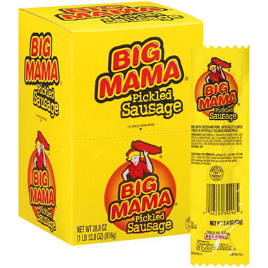 Big Mama Pickled Sausage - 12 ct
