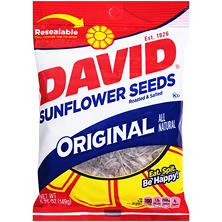 David Roasted & Salted Original Sunflower Seeds (5.25 oz.)