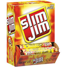 Slim Jim Smoked Snacks - 100 ct.