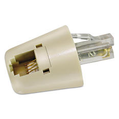 Softalk Twisstop Rotating Cord Detangler - Ivory