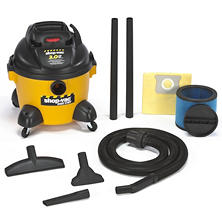 Shop-Vac Industrial HP Wet/Dry Vac - 3.0 Peak HP - 6 Gal