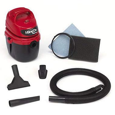 Shop-Vac® 1.5 Gallon HangOn™ Portable Wet/Dry Vac