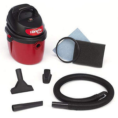Shop-Vac� 2.5 Gallon HangOn? Portable Wet/Dry Vac