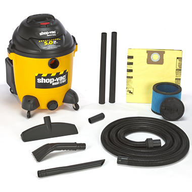 Shop-Vac Industrial 12-Gal. 5.0 Peak HP Wet/Dry Vac