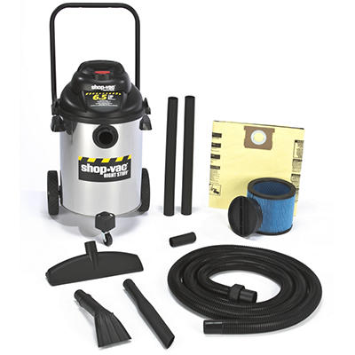Shop-Vac Industrial 10-Gal. Stainless Steel Wet/Dry Vac