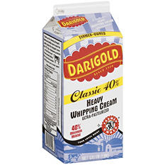 Darigold Heavy Whipping Cream (1/2 gal.)