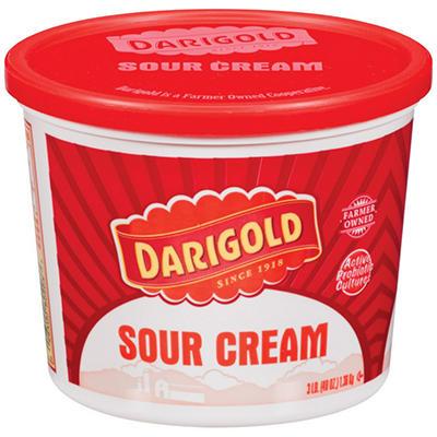 Darigold® Sour Cream - 3 lb. tub