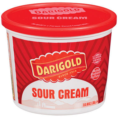 Darigold� Sour Cream - 3 lb. tub
