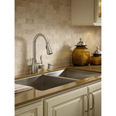 Moen Boutique Pulldown Kitchen Faucet in Spot Resist™ Stainless