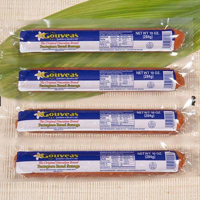 Gouveas Portuguese Sausage  (10 oz. pks., 4 ct.)